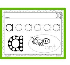 Early writing worksheets! Perfect for Preschool, PreK.