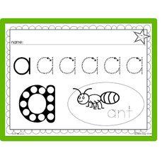 Early writing worksheets! Perfect for Preschool, PreK.