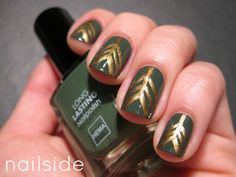 Nailside: 31 Day Challenge, day 16: Tribal Print