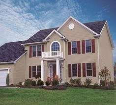 Achieve maximum energy savings, performance, and protection with exterior cladding.  (pictured: ProVia's CedarMax vinyl siding)