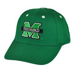 Marshall Thundering Herd Adjustable Hats