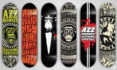 skateboard deck designs | Skateboard Deck Designs by ~donkolondoy on deviantART