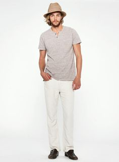 Brixton Pant in Wheat
