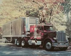 Peterbilt 359 off poster from the 70s