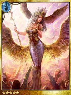 Niké,diosa griega de la victoria.