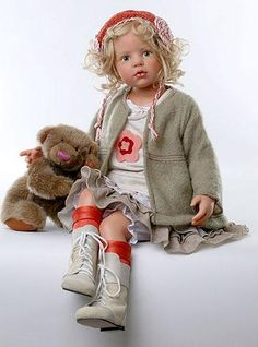 Hildegard Gunzel Collectible Dolls is weinig voor haar poppen; Reborn Toddler Dolls, Child Doll, Reborn Dolls, Reborn Babies, Baby Dolls, Schmuck Online Shop, Annette Himstedt, Lifelike Dolls, Dream Doll