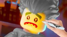 The LEGO Batman Movie Sad Joker Coloring Book Pages Video For Kids