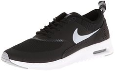 brand new 3b272 38957 Nike Women s Air Max Thea Black Wolf Grey Anthrct White Running Shoe 8