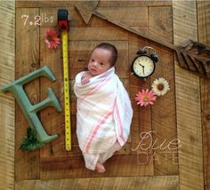 Premie born original due date photo height weight announcement idea birth