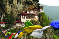 O monastério Taktshang - Butão