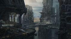 292 Wallpapers com cenários futurísticos para os amantes de ficção científica…