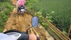 L'accès difficile au village