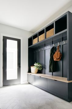 Built In Lockers, Built In Bench, Bench With Storage, Storage Drawers, Mudroom Laundry Room, Bench Mudroom, Mudroom Storage Ideas, Mud Room Lockers, Boot Room Storage
