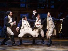 Musical Where Black Men Play White Founding Fathers Up For 16 Tony Awards