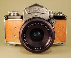 EXAKTA VX German camera & wide angle lens