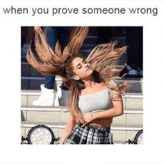 Ariana Grande Hair Flip OMG that's so me