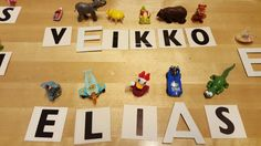 Kirjaimella alkava esine Learning Environments, Early Childhood Education, Pre School, Little Ones, Alphabet, Language, Classroom, Teaching, Peda