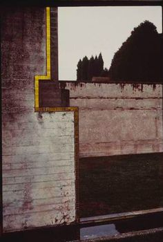 Daniel Boudinet, Brion Tomb, from series Les Scarpa, Italy, date unknown