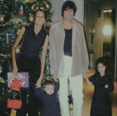 Simon, Yasmin, Amber & Saffron, Christmas