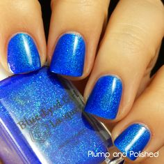 Plump and Polished: Blue-Eyed Girl Lacquer - It Got Away from Me, Yeah... Collection [The Ladies] -A Long Time Ago Tomorrow