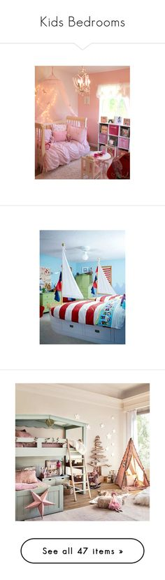 """Kids Bedrooms"" by laceyleanne18 ❤ liked on Polyvore featuring houses, backgrounds, interior design, bedrooms, house, babie, baby rooms, rooms, pictures and home"