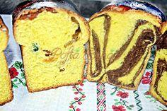 cozonac-simplu-sau-cu-nuca-si-cacao-reteta-pofta-buna-cu-gina-bradea-12 Romanian Food, Loaf Cake, Sweet Bread, French Toast, Diet, Breakfast, Cook, Recipes, Home