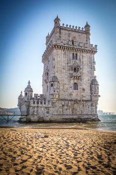 belem tower, lisbon, portugal, unesco word heritage site lisbon, defense