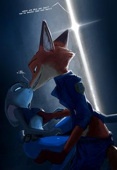 "Happy Anniversary Zootopia! TheWyvernsWeaver and I (Kulkum) are celebrating in true WildeHopps style. Enjoy! "" Support us on Patreon! "" The banner that hung over the greeting desk in the lobby was about as ostentatious to say the least. In her mind,..."