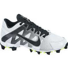d003ac459 Nike Women s Hyperdiamond Keystone Softball Cleats - White Black
