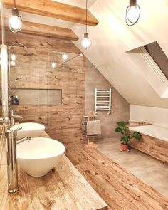 48 Easy Shower Design Ideas For Small Bathroom Bathroom Cost, Bathroom Goals, Attic Bathroom, Bathroom Interior, Bathroom Plumbing, Attic Shower, Cosy Room, Budget Home Decorating, Home Improvement Loans