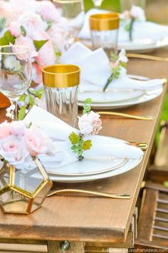 See this Floral Garden Bridal Shower by Kara of Kara's Party Ideas. Plus links to DIY and recipes! Event Themes, Event Decor, Showers Of Blessing, Garden Bridal Showers, Adult Birthday Party, Rustic Wedding, Wedding Ideas, Tablescapes, Party Planning