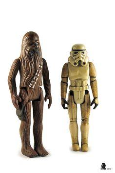 Chubakka And Storm Trooper