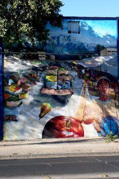 Street Art from Santiago de Chile - Street Art Utopia Street Art Love, Best Street Art, Best Graffiti, Street Art Graffiti, Banksy, Graffiti Artwork, Street Gallery, Sidewalk Art, Beautiful Streets