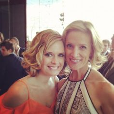 Maggie Lawson and Kirsten Nelson