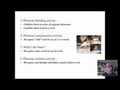 phonemic awareness - YouTube