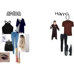 Chapter Three by lookattheseasonschange on Polyvore featuring George, adidas, Giorgio Armani, Urban Pipeline, Uniqlo and Yves Saint Laurent