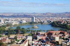 Central Antananarivo, (Capitaol of Madagascar) including Lake Anosy