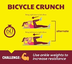 Flat Abs Workout - Bicycle Crunch
