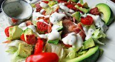 BLT Salad with Creamy Mayo Vinaigrette - myTaste.com