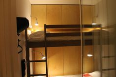 the special beds in the shared rooms at TEH