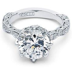 Tacori RoyalT Platinum Engagement Ring