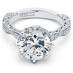 Tacori RoyalT Platinum Engagement Ring
