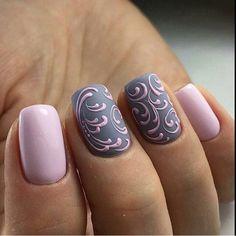 Красивый маникюр , Ногти , Мк #nailart