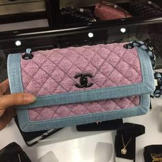 Chanel Two-tone Tweed Flap Bag Cruise 2016 Available