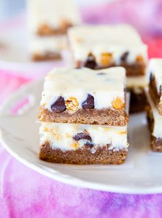 Coconut Spice Cheesecake Bars