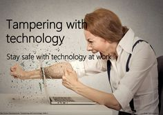 18 best teaching resources images on pinterest learning resources tampering with technology stay safe with technology at work fandeluxe Gallery