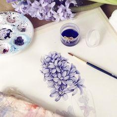 Watercolorist: @limkina #waterblog #color #акварель #art #paint #aquarelle #watercolor #drawing #painting
