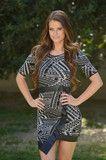 Mixer Dress - Black & White | Fashion Nova