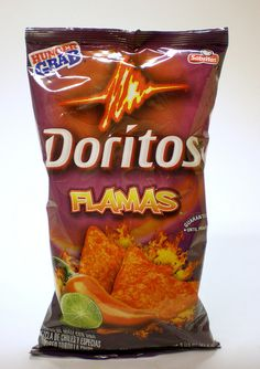 A friend encouraged me to sample Doritos Flamas. Spicy, with a touch of burn and a tang of lime. Now I can't find them anywhere!