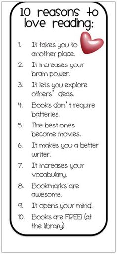 10 Reasons to Love #Reading re-pinned by: http://sunnydaypublishing.com/books/